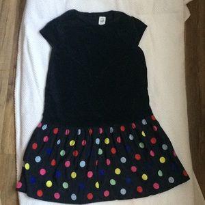 Baby Gap polka dots dress for girl.